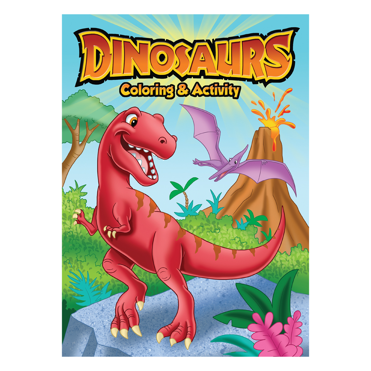 T COLORING & ACTIVITY BOOKS DINOSAURS