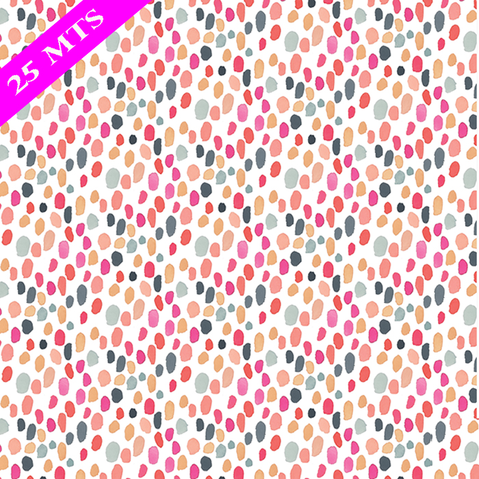 SORBET DOT WRAP 30 IN X 25 MTS