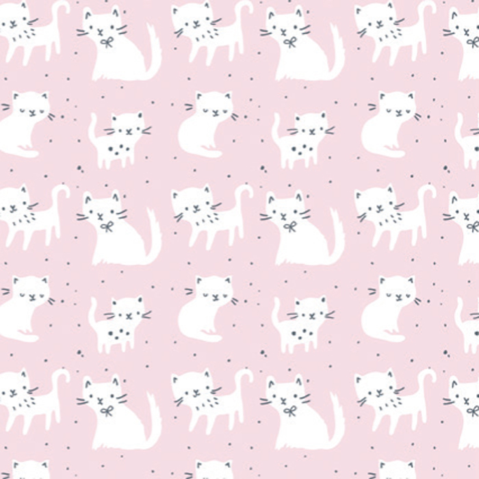 PAPEL DE REGALO KITTY SPOTS 76 CMS X 25 MTS