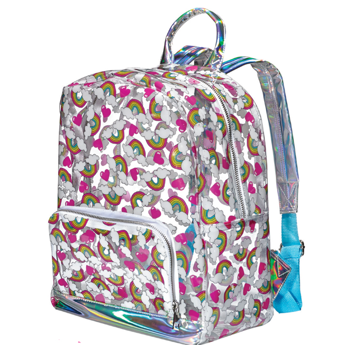 RAINBOW & HEART BACKPACK 2 PZ