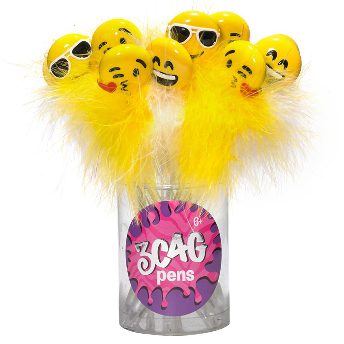EMOJI FUN PENS SET 12 PZ