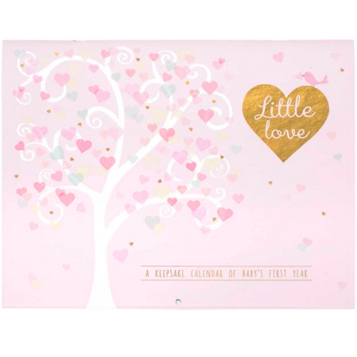 FIRST YEAR CALENDAR LITTLE LOVE 1 PZ