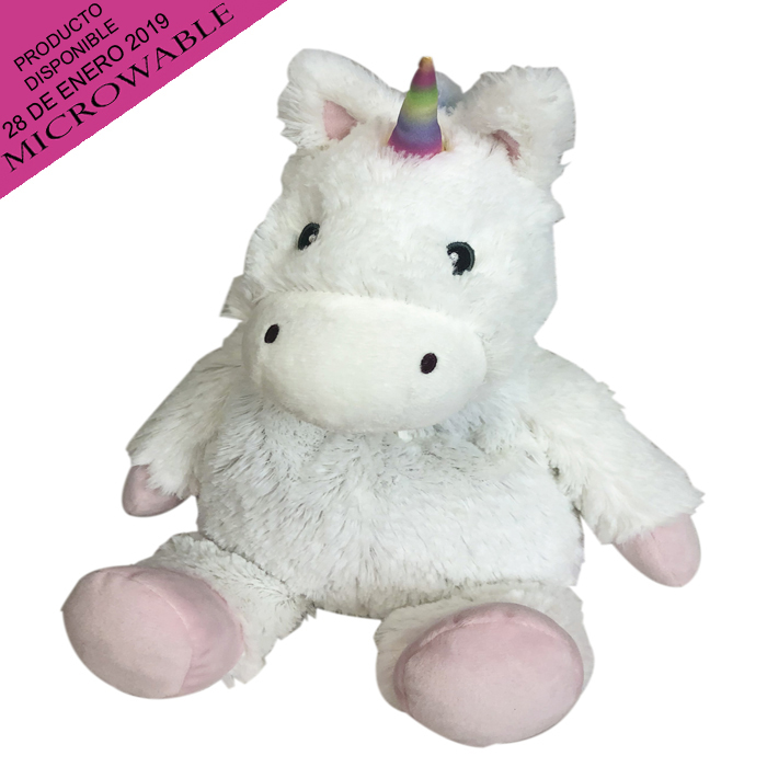 COZY PLUSH WHITE UNICORN 2 PZ