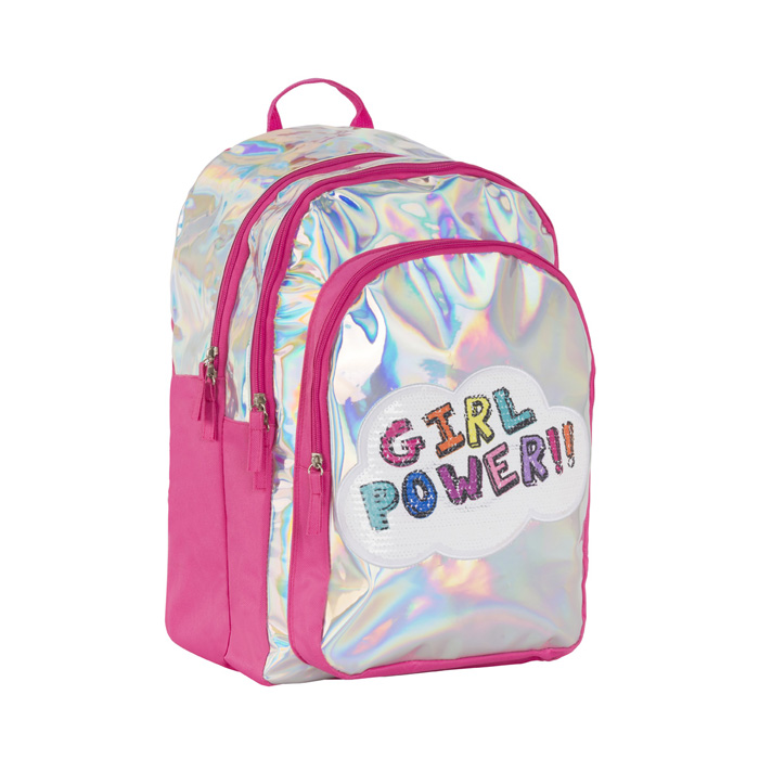 MOCHILA GIRL POWER 2 PZ