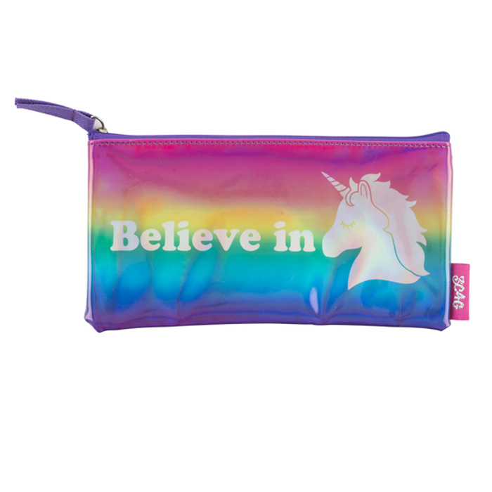 UNICORN PENCIL BAG 4 PZ