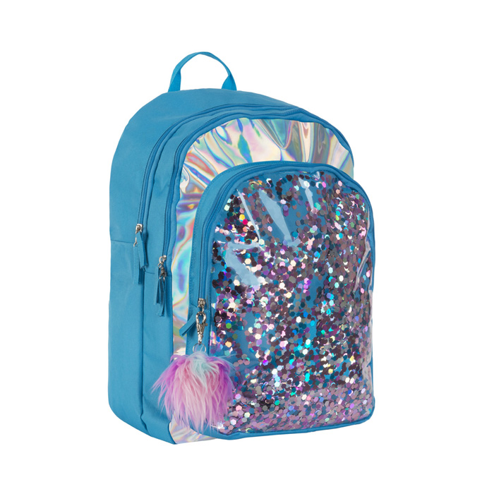 CONFETTI FUR BACKPACK