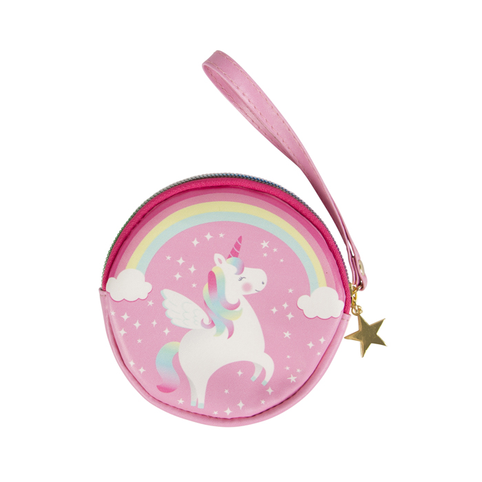 RAINBOW UNICORN COIN PURSE 6 PZ