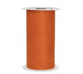 ORANGE TULLE ROLL 1 PZ
