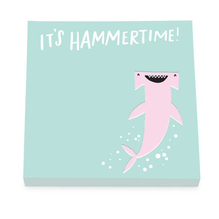 IT´S HAMMERTIME STICKY NOTES 6 PZ