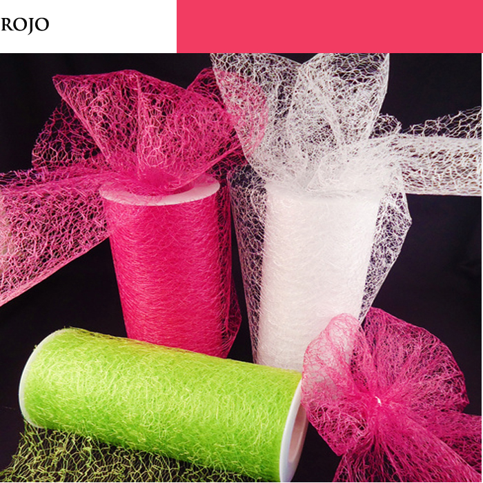 RED MALLA TULLE ROLL 1 PZ