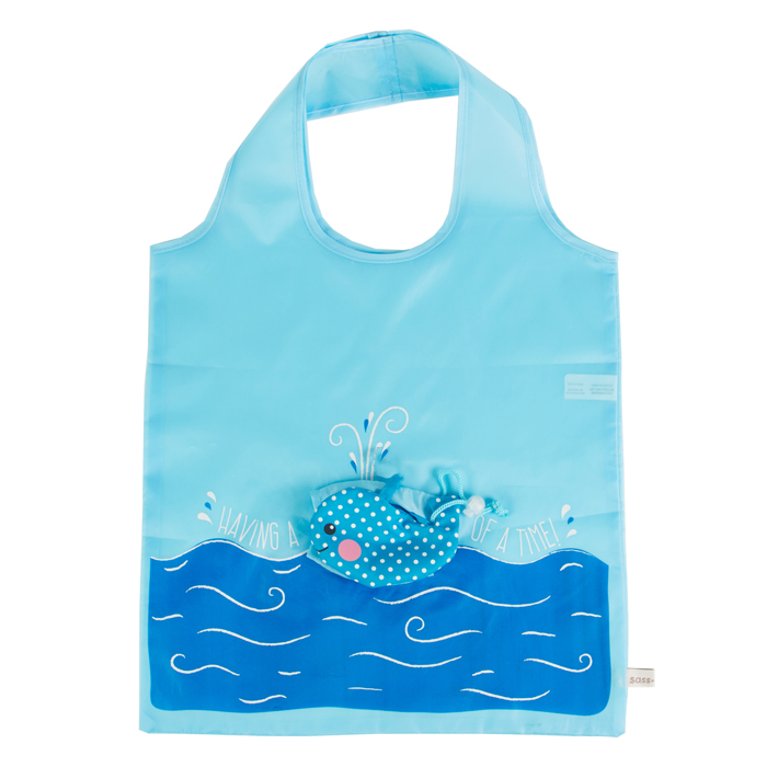 SHOPPING BAG WHALE  12 PZ