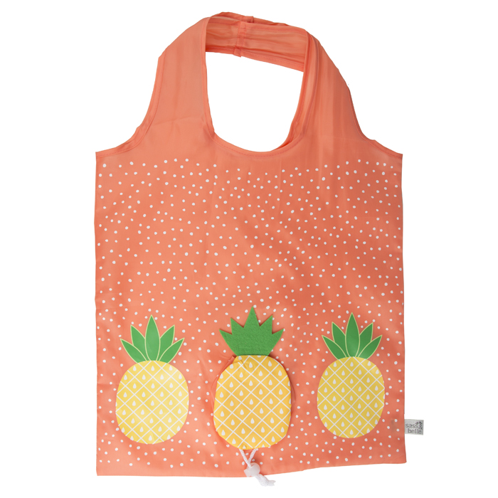 SHOPPING BAG PINEAPPLE 12 PZ