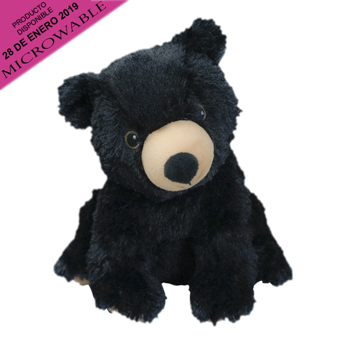 COZY PLUSH BLACK BEAR 2 PZ