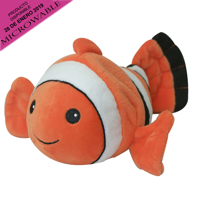 COZY PLUSH JUNIOR CLOWN FISH 2 PZ